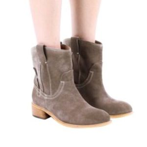 Jeffrey Campbell Brown St. Elmo Ankle Boots Sz 7.5
